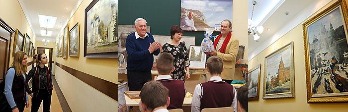 встреча с Горбуновым А. в ФМЛ
