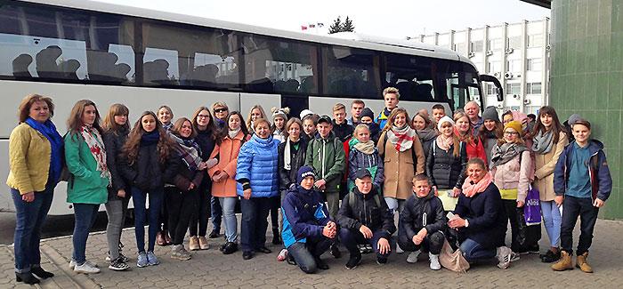 4 октября, в рамках школьного обмена, 31 обучающийся их школ №1,11 и 14, изучающих французский язык, в сопровождении педагогов, отправились в Рюэль – Мальмезон
